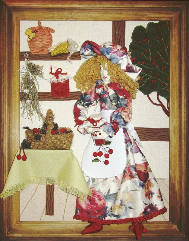 Картина Панночка с вишневым вареньем