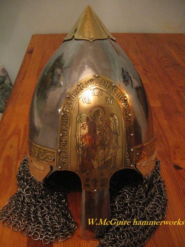 Русский княжеский шлем.Собирательный образ.
