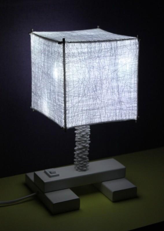 Ночник white cube