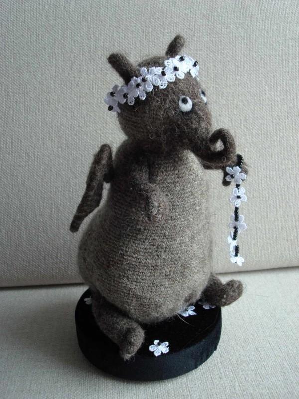 Авторская игрушка Влюбленный слонопотам