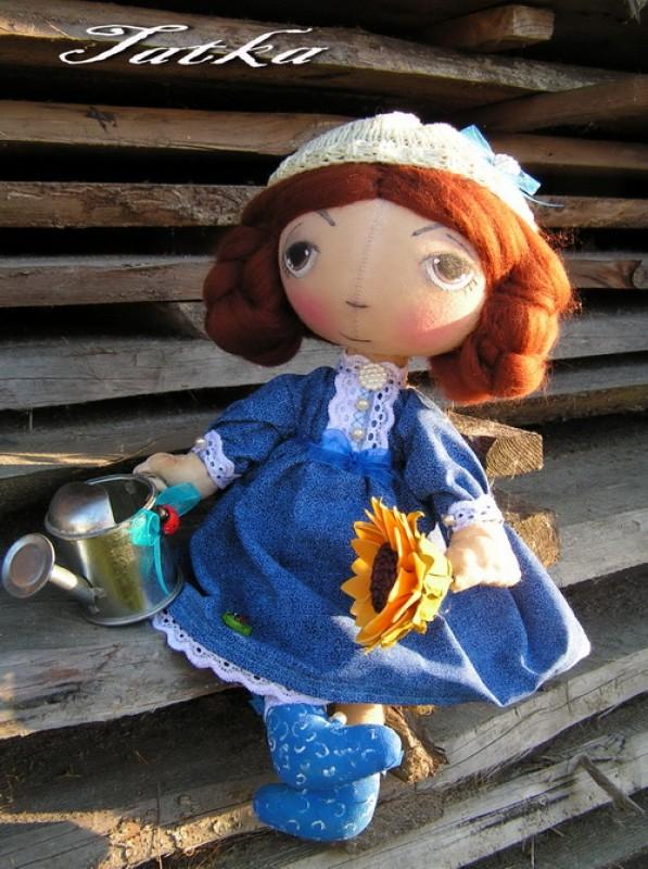 Эльза .Интерьерная кукла от ТАТКИ .Бессердечных здесь нет !Сошью на заказ