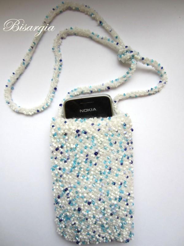 Чехол для телефона Праздничный снег