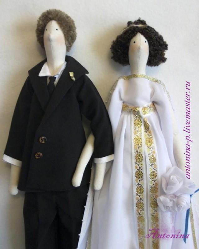Тильды жених и невеста (сделаю на заказ)