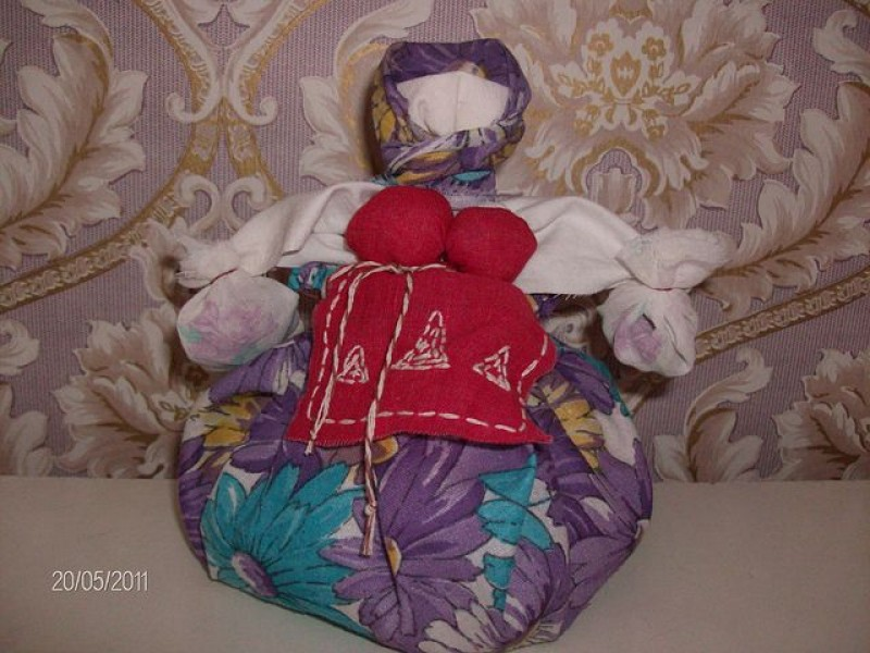 Народная кукла Кубышка - Травница