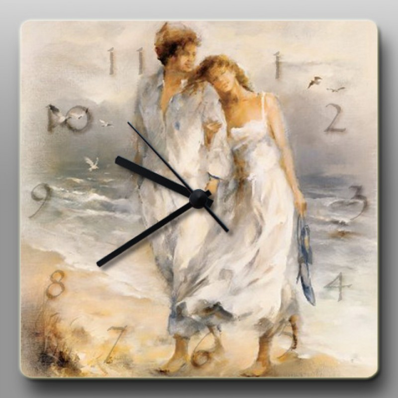 Часы из серии Воздушные акварели