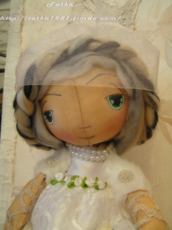 Невеста -тыковка .Для примера