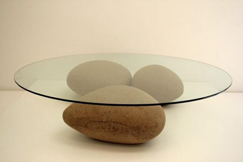 столик журнальный (камни)
