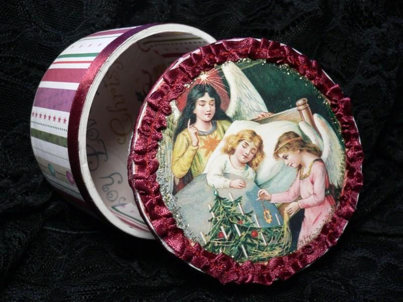 Рождественские шкатулочки