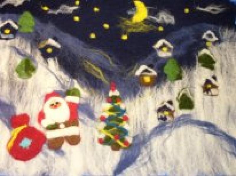 Подушка Зимние подарки