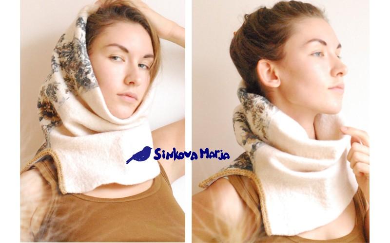 шарф-труба или снуд