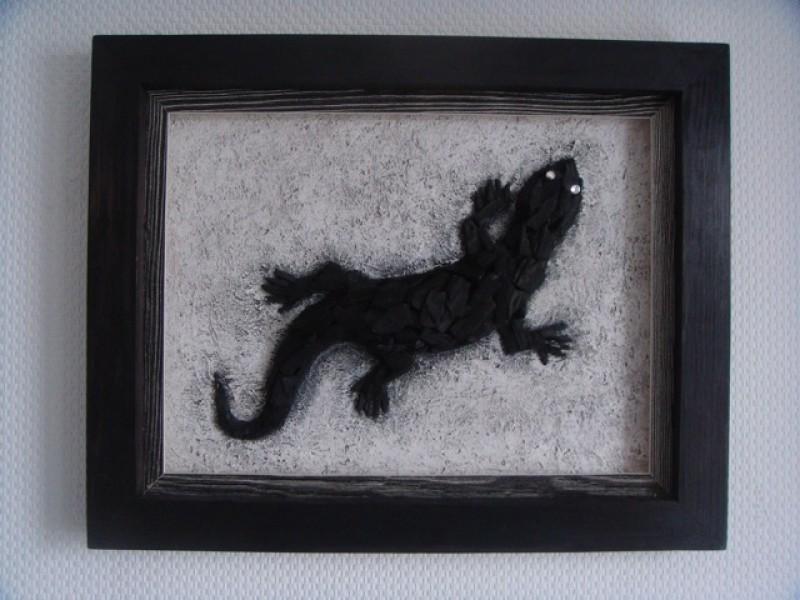 Коллаж Угольная ящерица или Драконы Часть 2:-)