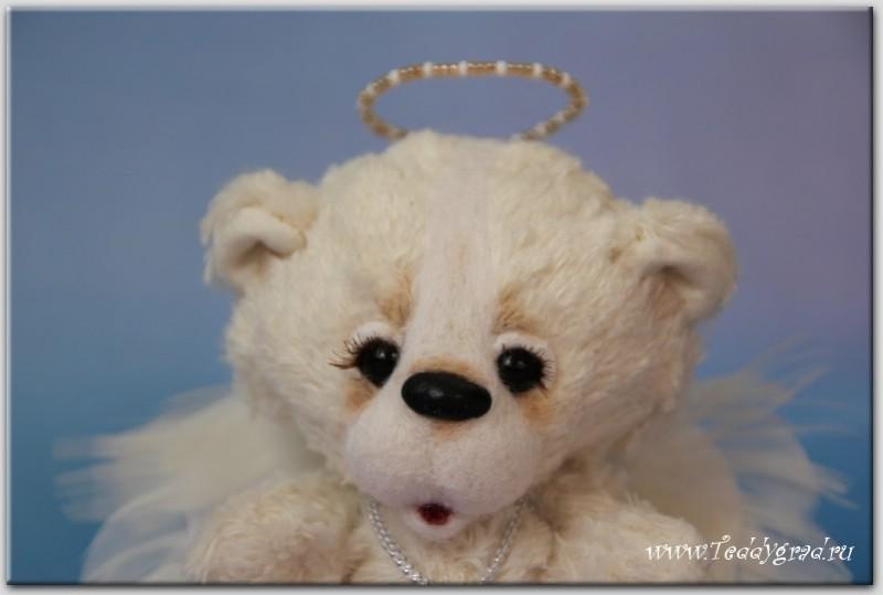 Мишка-ангел Снежка (в резерве)