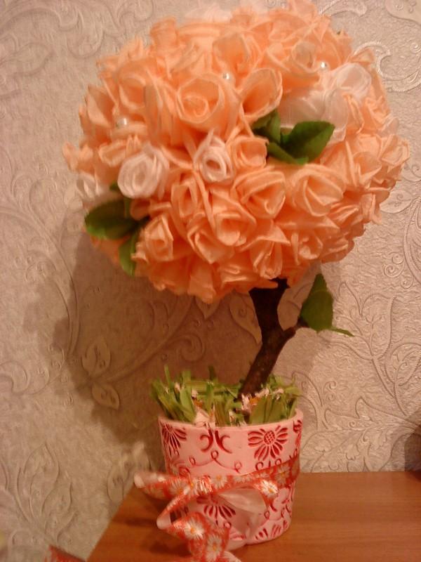 Дерево Счастья Персиковая Нежнось