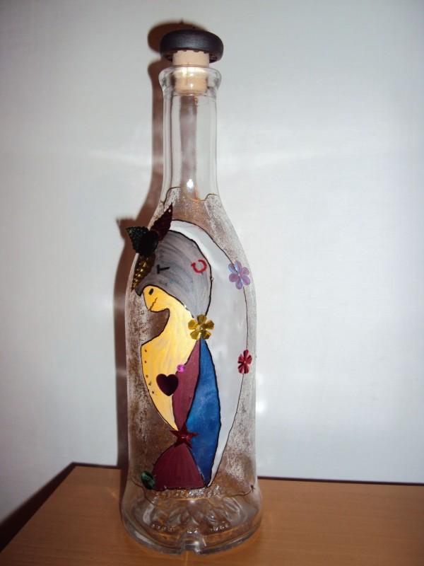 Интерьерная бутылочка Гламур.