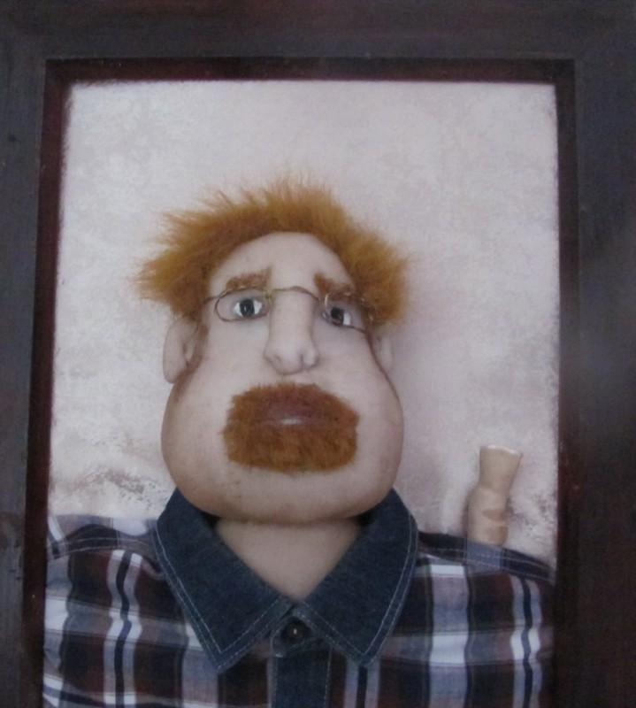 Портретная кукла, портрет-шарж