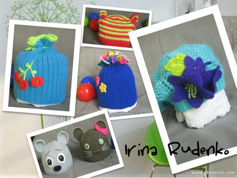 Весенние беретики и шапочки на маленьких модниц!