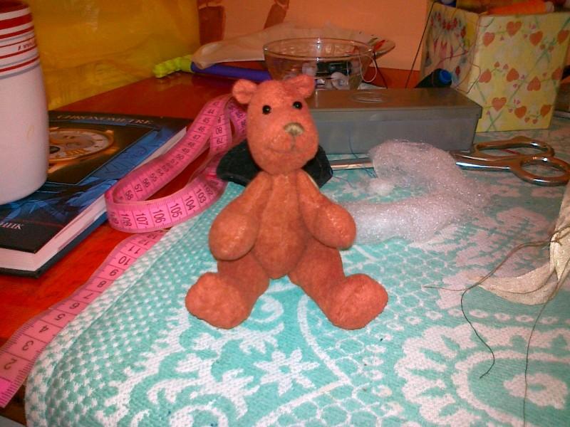 игрушка медведик