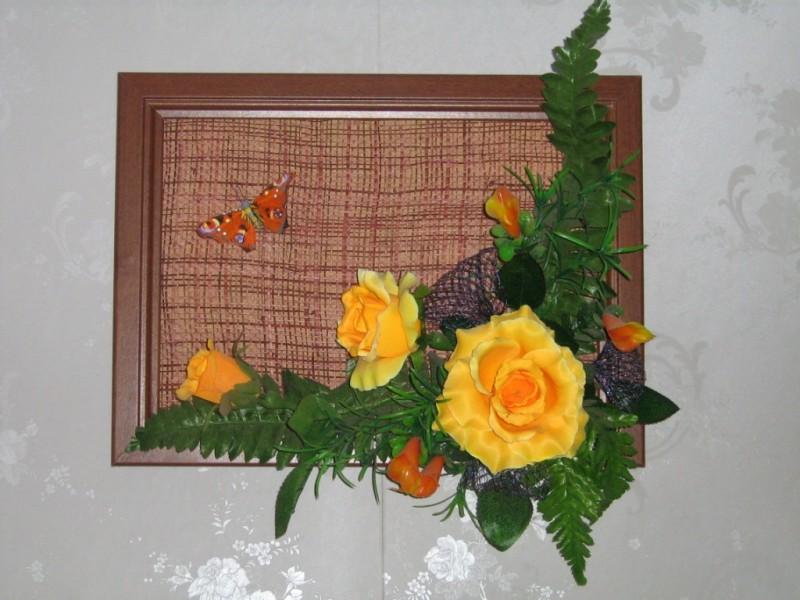 Панно на стену Оранжевое настроение