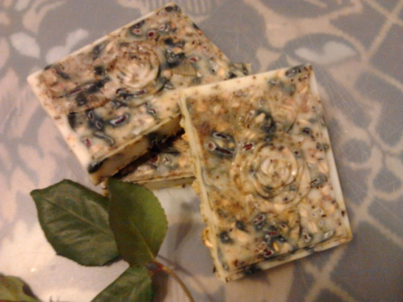 Натуральное мыло-скраб