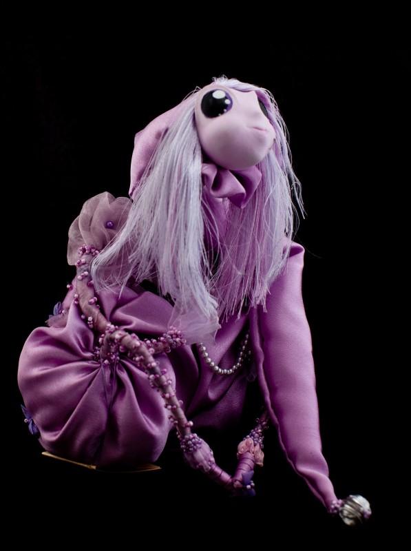 Авторская кукла Сиреневые сны