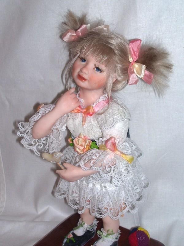 Авторская кукла Конфетка