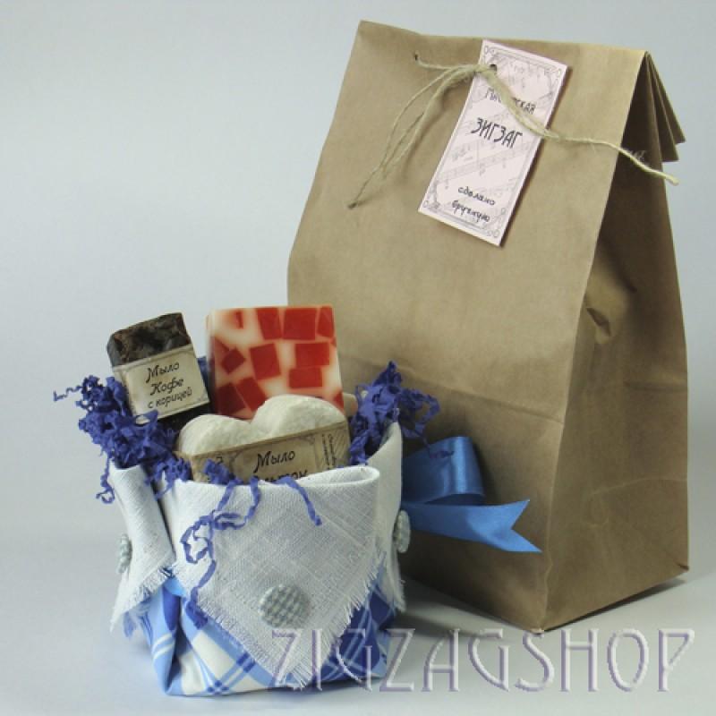 Подарочный набор натурального мыла ручной работы № 27