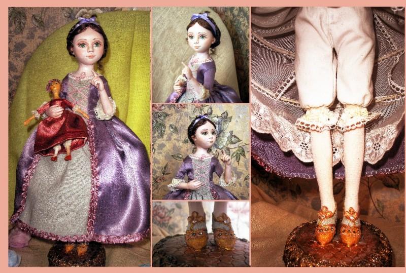 Интерьерная кукла  авторской работы