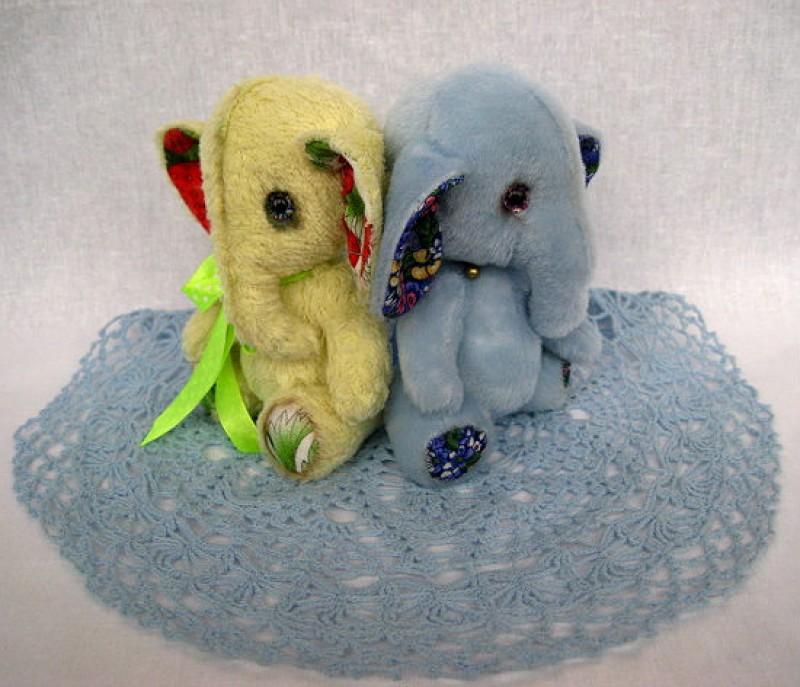 Слоняшки Ягодка и Цветочек