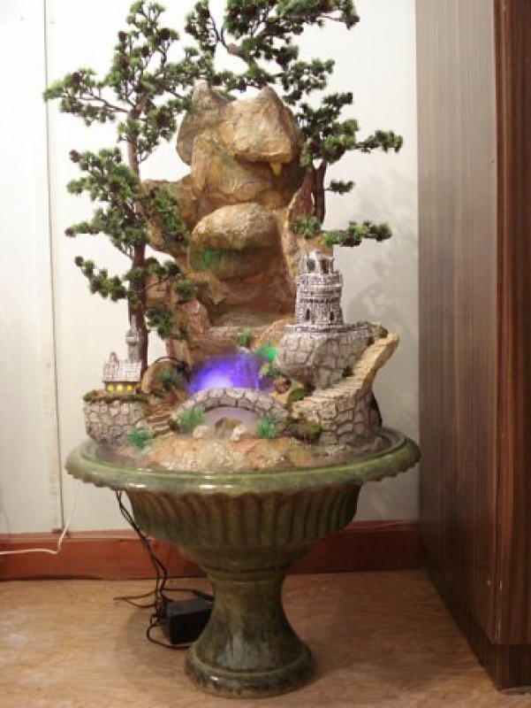 Комнатный фонтан или водопад