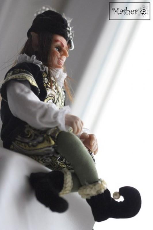 Авторская кукла Средневековый Королевский шут