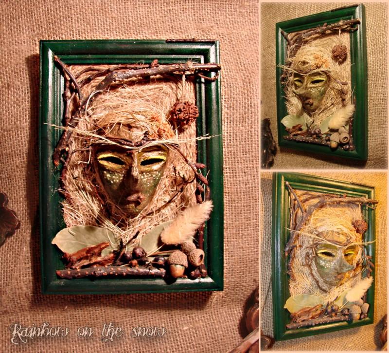 Интерьерная маска Лесной дух
