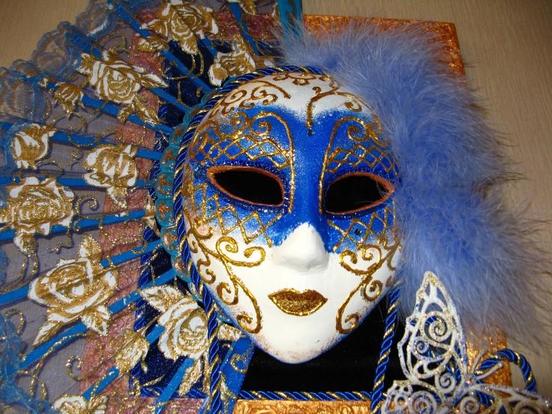 Панно Венецианская маска BlueButterfly