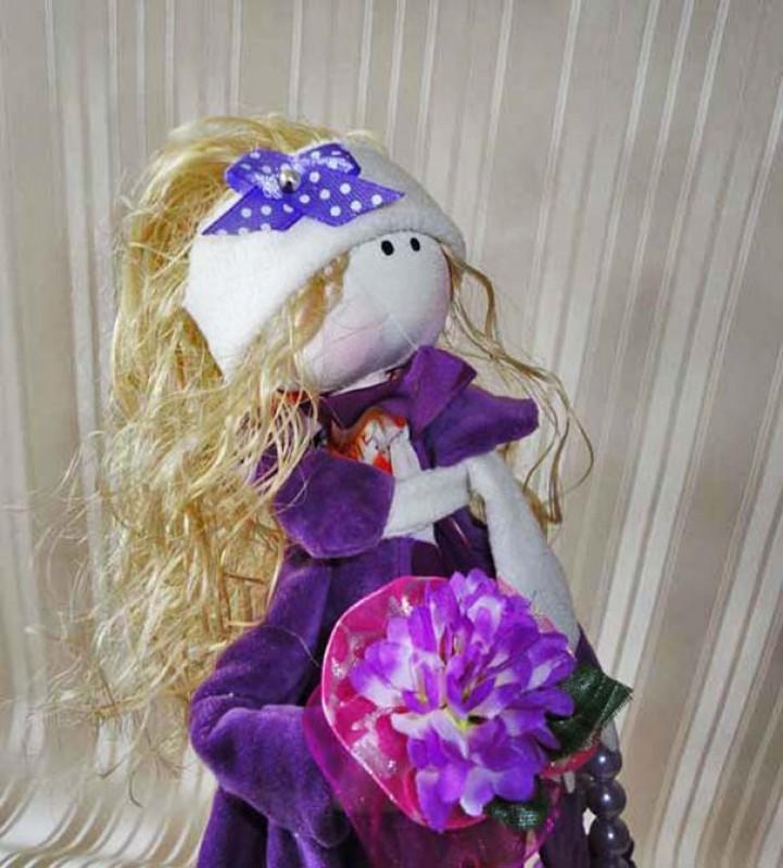 Кукла Вайолет.