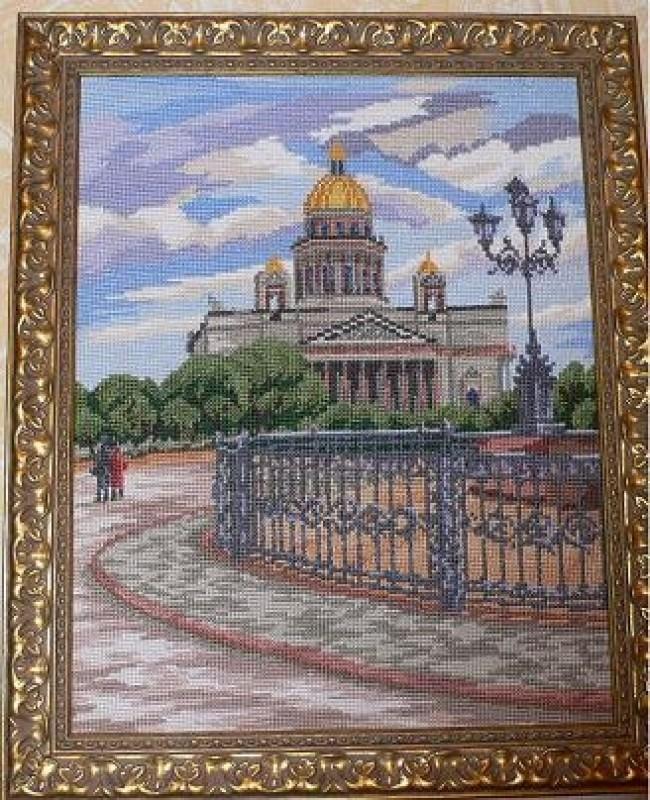 картина Исаакиевский собор;