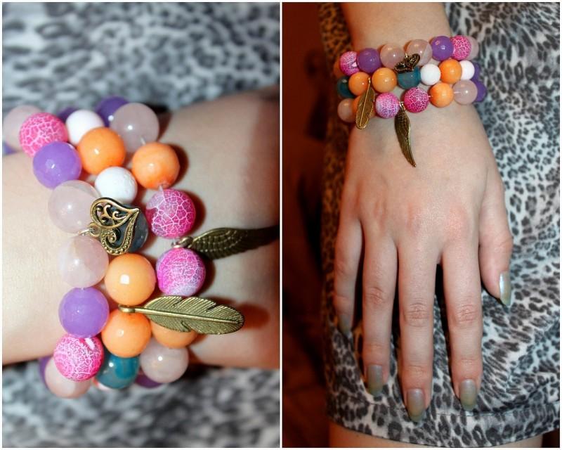 Коллекция браслетов Хорошее настроение.