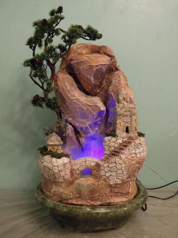 Настольный фонтанчик Сказочный остров