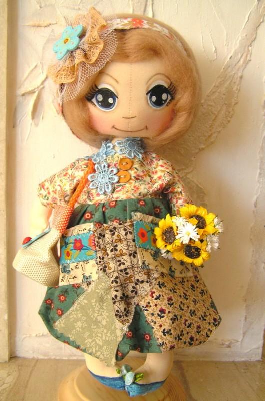 коллекционная кукла Лизонька .Для примера