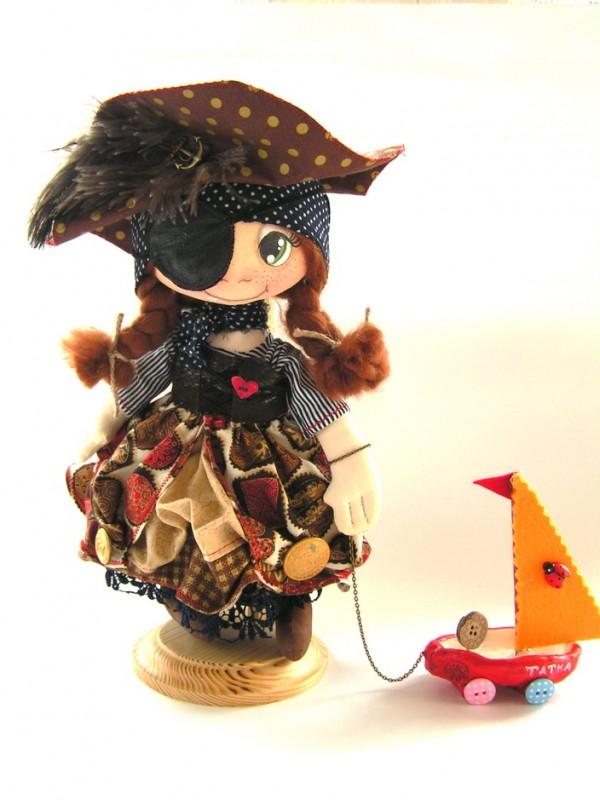 Коллекционная кукла Бабушка пирата )))  Для примера