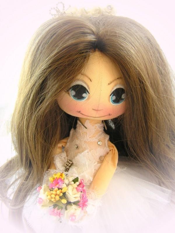 Коллекционная кукла.уж замуж невтерпежДля примера
