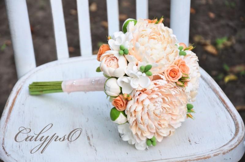 Свадебный букет Corall wedding