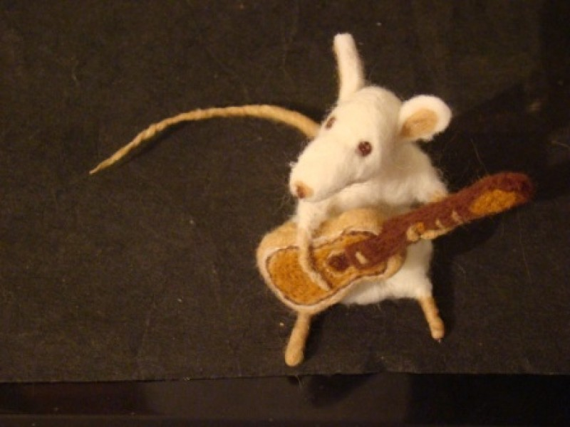 Авторская игрушка Мышка