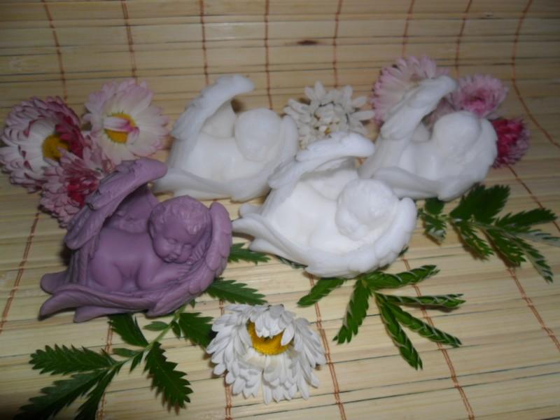 Спяшие ангелочки эксклюзивное мыло из основы.
