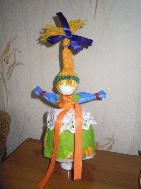 Тряпичная кукла Веснянка
