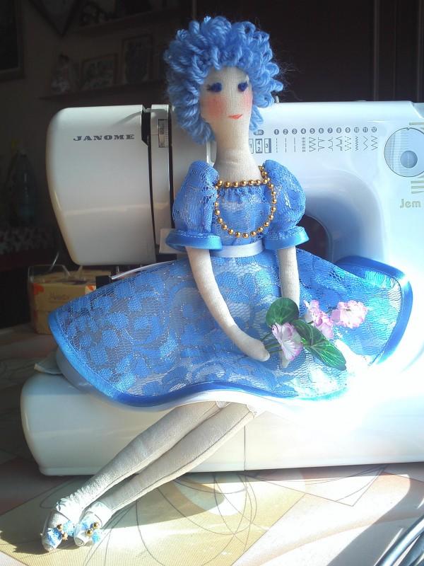 авторская игрушка кукла Мальвина