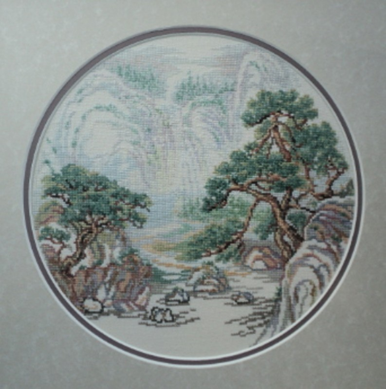 Картина  Японский пейзаж