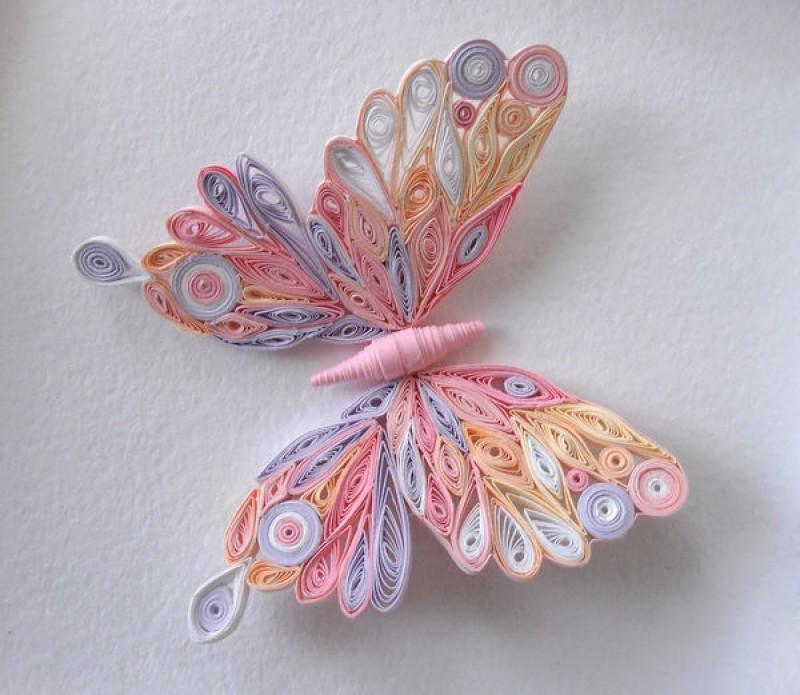 Бабочки цветы своими руками фото