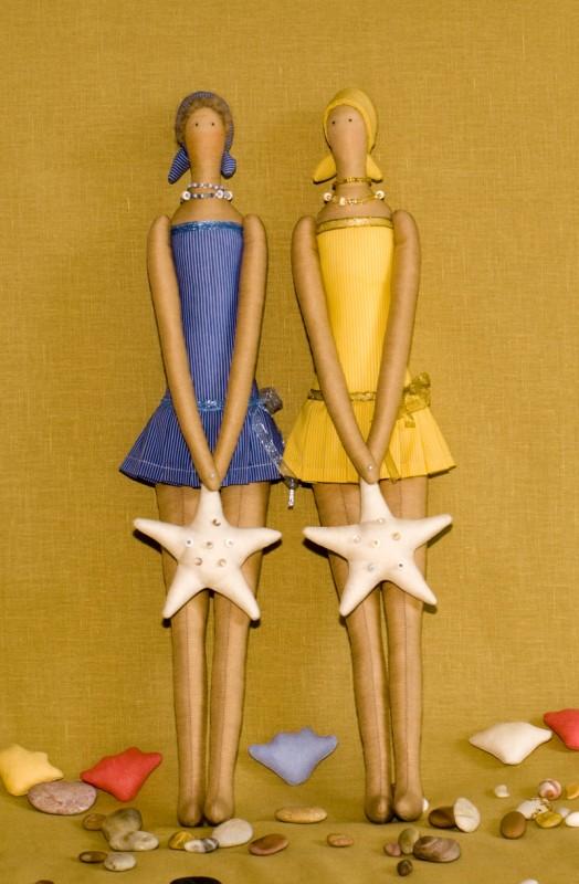 Интерьерные куклы Пляжные девушки