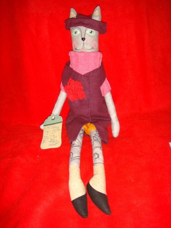 Текстильная игрушка  Киса КэтСи