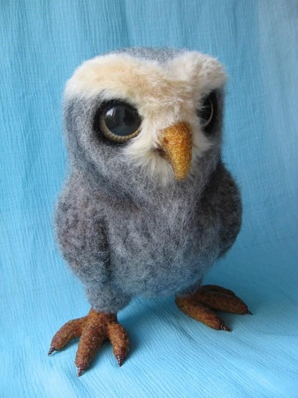 Войлочная сова ухтя