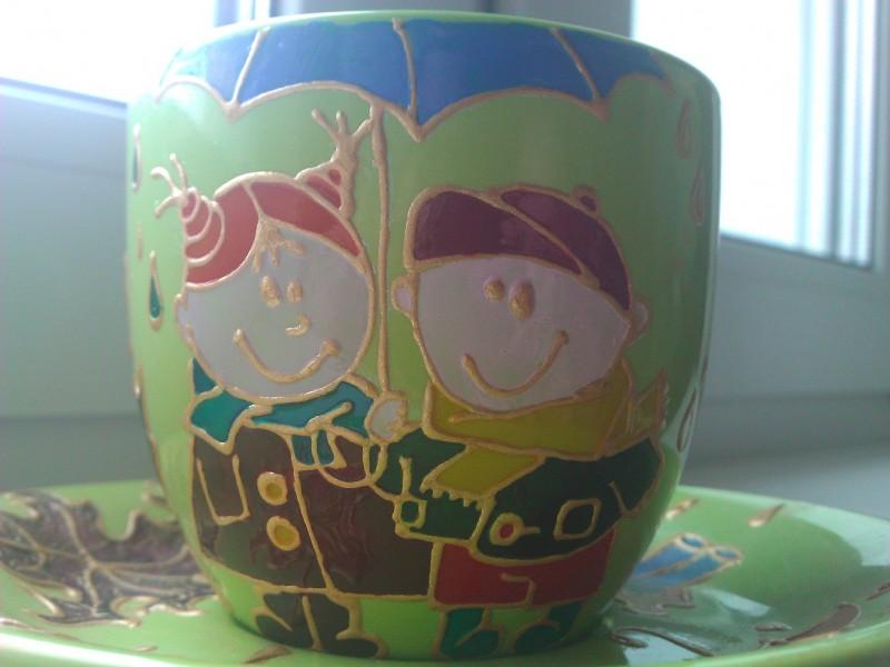 Чайный комплект Осенний